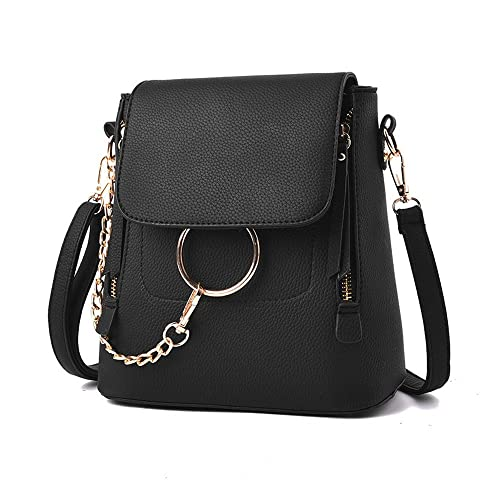 c9a15875c8c2 Olyphy Designer Leather Chain Backpack for Women