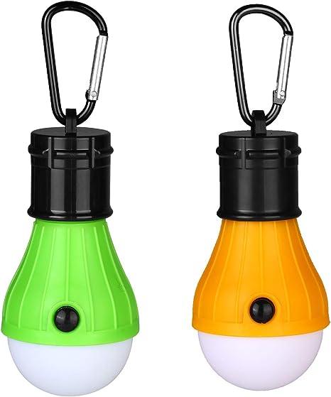 2 er Set LED Akku Camping Laterne 36 LED Dimmer Campinglampe Zeltlampe Laterne