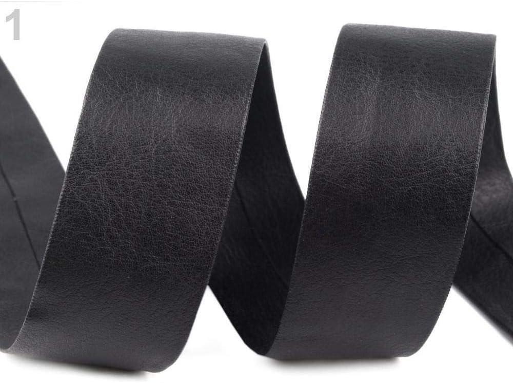 Tan Leatherette Flat Bias Binding Per Metre