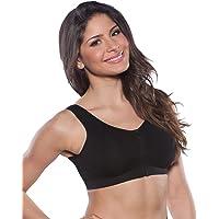 Marielle - Sujetador de Lactancia Acolchado con Cremallera Frontal para Mujer - Sujetador cómodo con Espalda Ancha