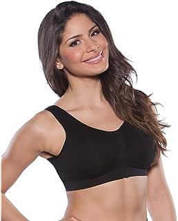 Marielle - Sujetador de Lactancia Acolchado con Cremallera Frontal para Mujer - Sujetador cómodo con Espalda
