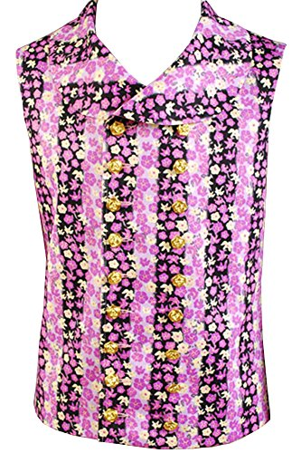 [Dumonsly Willy Wonka Costume Vest Only XX-Large] (Willy Wonka Costumes Girl)