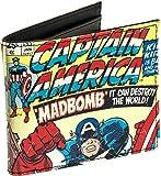 Marvel Comics Men's Captain America Comic Book Wallet