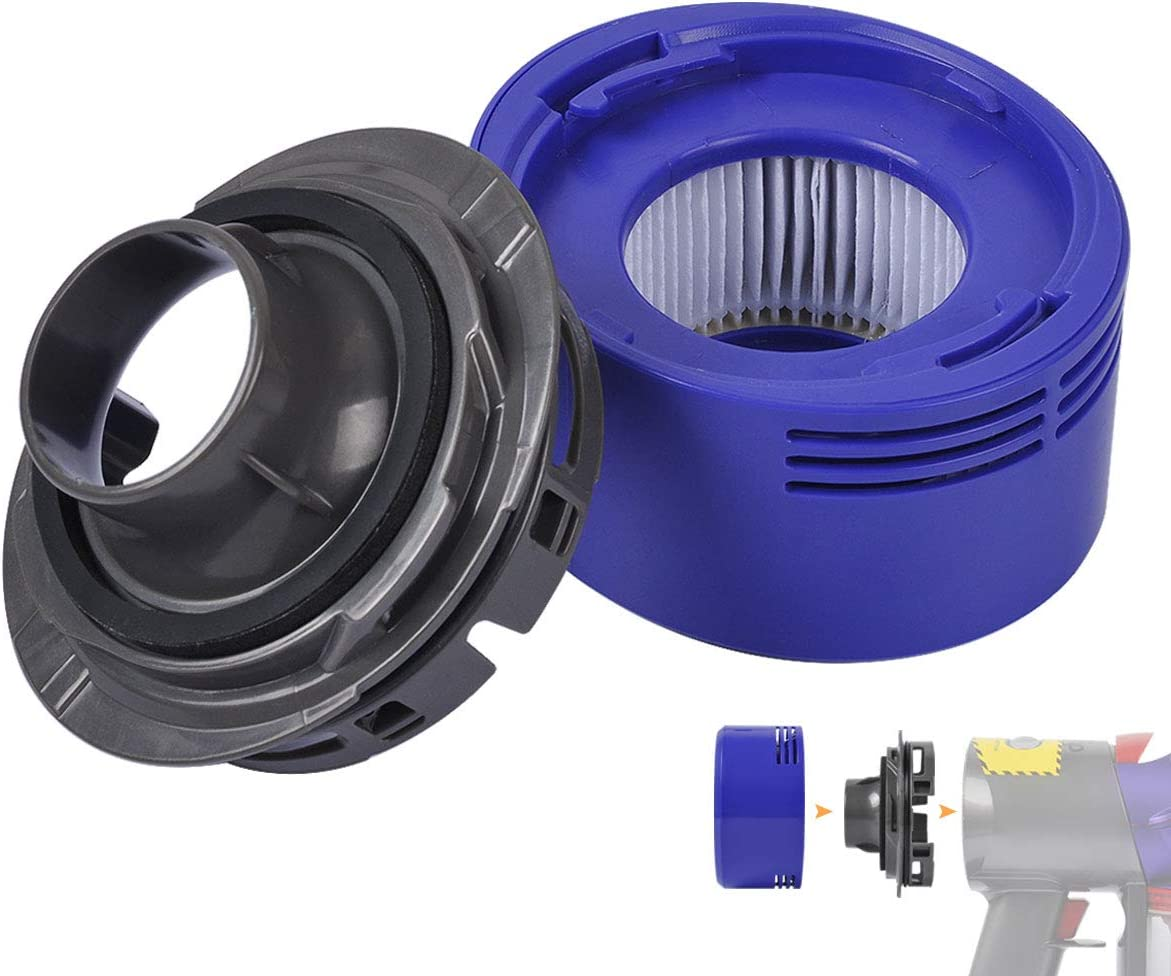 KeeTidy Post HEPA Filter Replacement & Motor Cover Compatible with Dyson V7 Motorhead Car+Boat Trigger Cord-Free Cordless Stick Vacuum Cleaners, Upgrade Your Vacuums