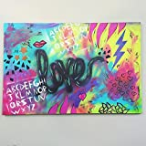 ''Electric Love'' - Original Mixed Media Artwork
