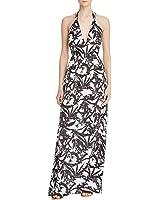 BB Dakota Womens Floral Print Sleeveless Maxi Dress