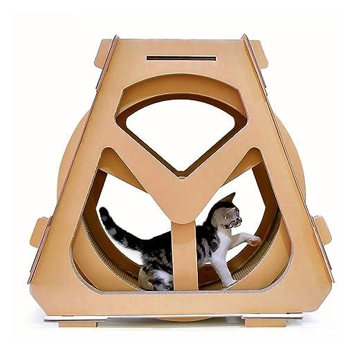 FPigSHS Tablero de Garra de Gato Plataforma para Escalar Gatos ...