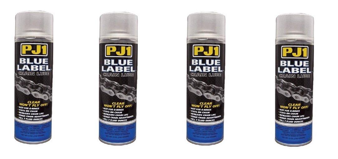 PJ1 PJ1 BLUE LABEL CHAIN LUBE 5OZ Chain Lube Blue Label Chain LubeFor O-Ring Chain (5 oz.) - 1-08 (4)
