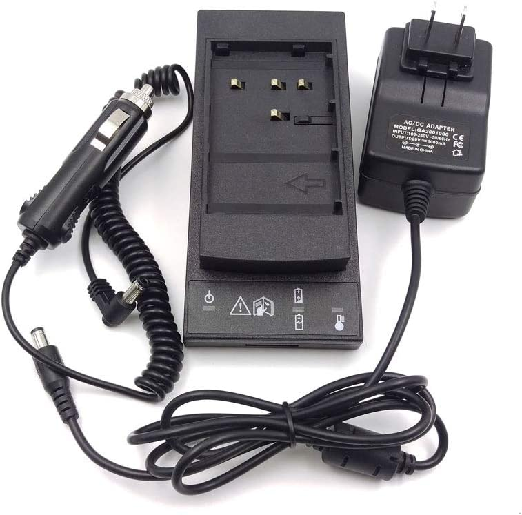 MCCAMSTORE GKL 211 Total Station Battery Charger for for Leica GEB221 and GEB211 Li-Ion Batteries Charger GKL 211