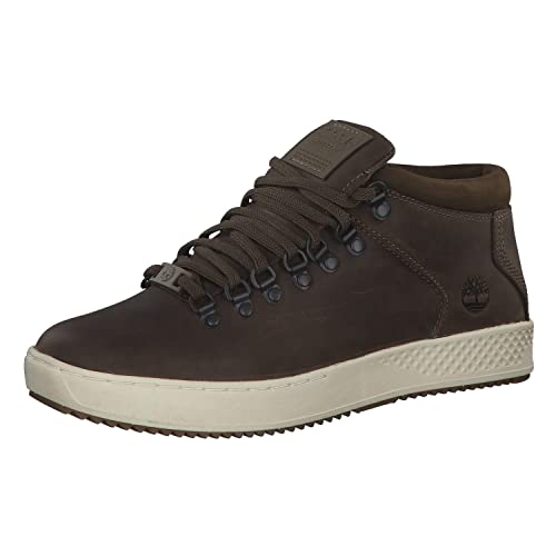 926932326f73f Timberland Scarpe Uomo Sneakers a Collo Alto Pelle Marrone TB0A1S6A-MORO   Amazon.it  Scarpe e borse