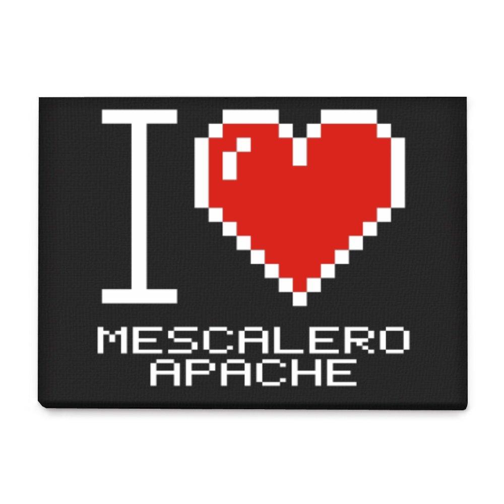 Amazon Idakoos I Love Mescalero Apache Pixelated Languages