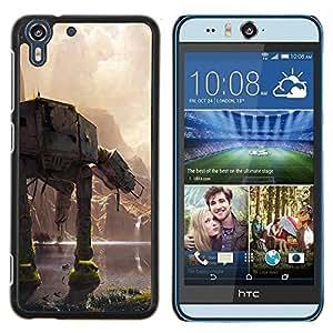 Gaga Case / At At Battle For HTC Desire EYE M910x Duro Snap en el tel???¡¯????fono celular de la cubierta