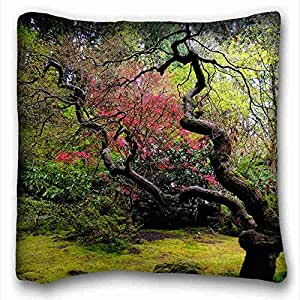 Custom Nature Custom Zippered Pillow Case 16x16 inches(one sides) from Surprise you suitable for King-bed