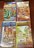 Booktown Mystery - Set of 4 Books - Murder is Binding; Bookmarked for Death; Chapter & Hearse; and Sentenced to Death