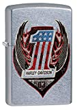 Zippo Harley-Davidson One Street Chrome Pocket Lighter