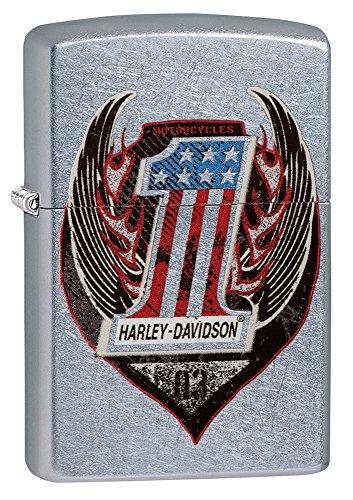 Zippo Harley Davidson Wings - 3
