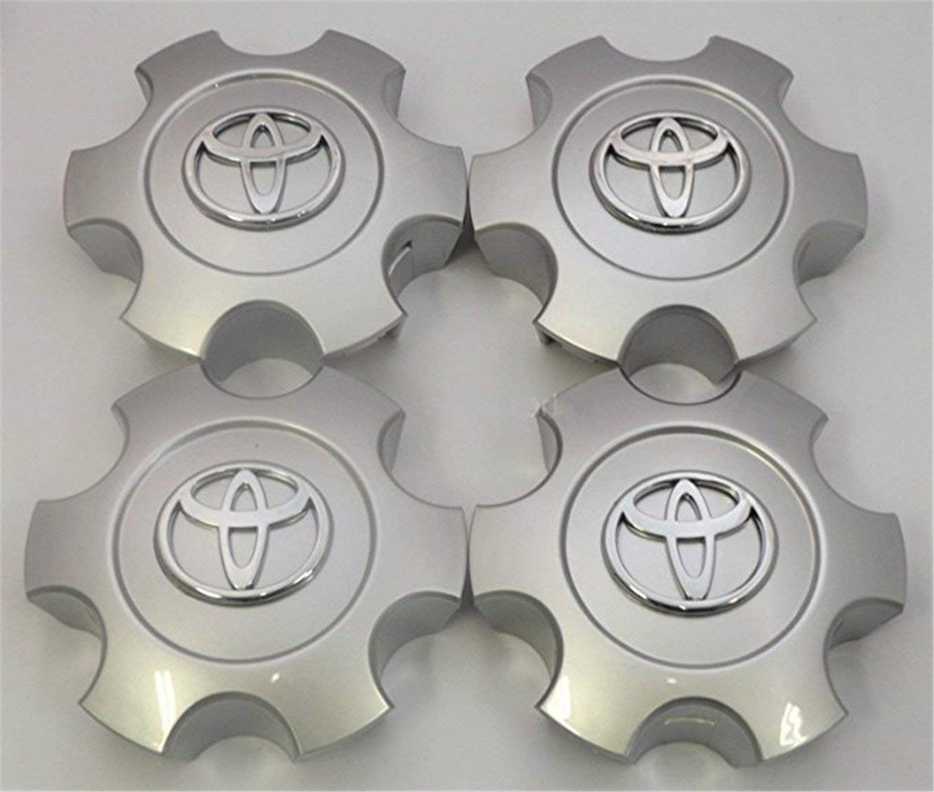Set of 4 New Replacement 2003 2004 2005 2006 2007 Tundra Sequoia Silver Wheel Center Hub Caps 56069440 US Fast Shipment