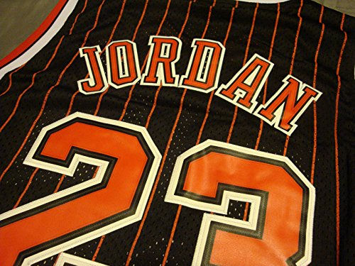 3b8563de9f4b NBA Chicago Bulls Black Red Stripe Jersey