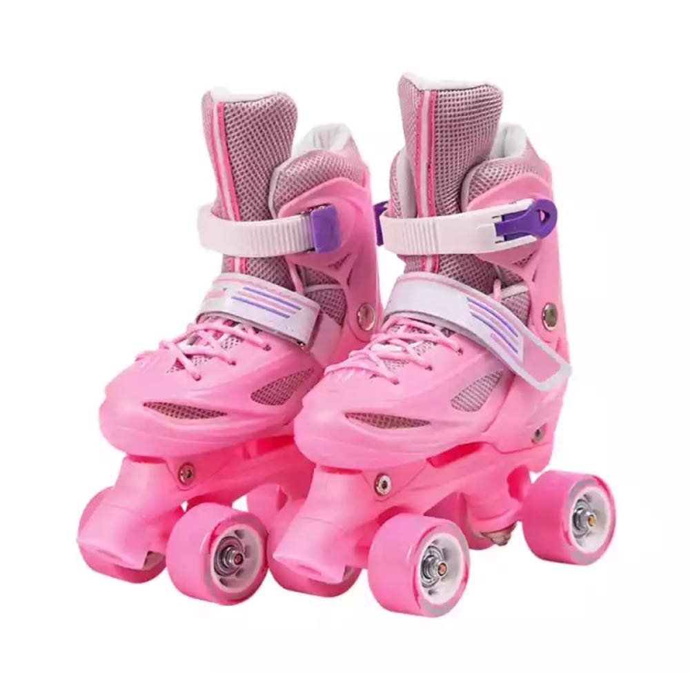 WANG L Roller Skates Rollerblades per Bambini A Due File