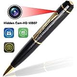 Hidden Pen Spy Camera – Bysameyee Wireless Covert Camera Mini PenCam HD 1080P, Portable Meeting Video Pen Recorders DVR
