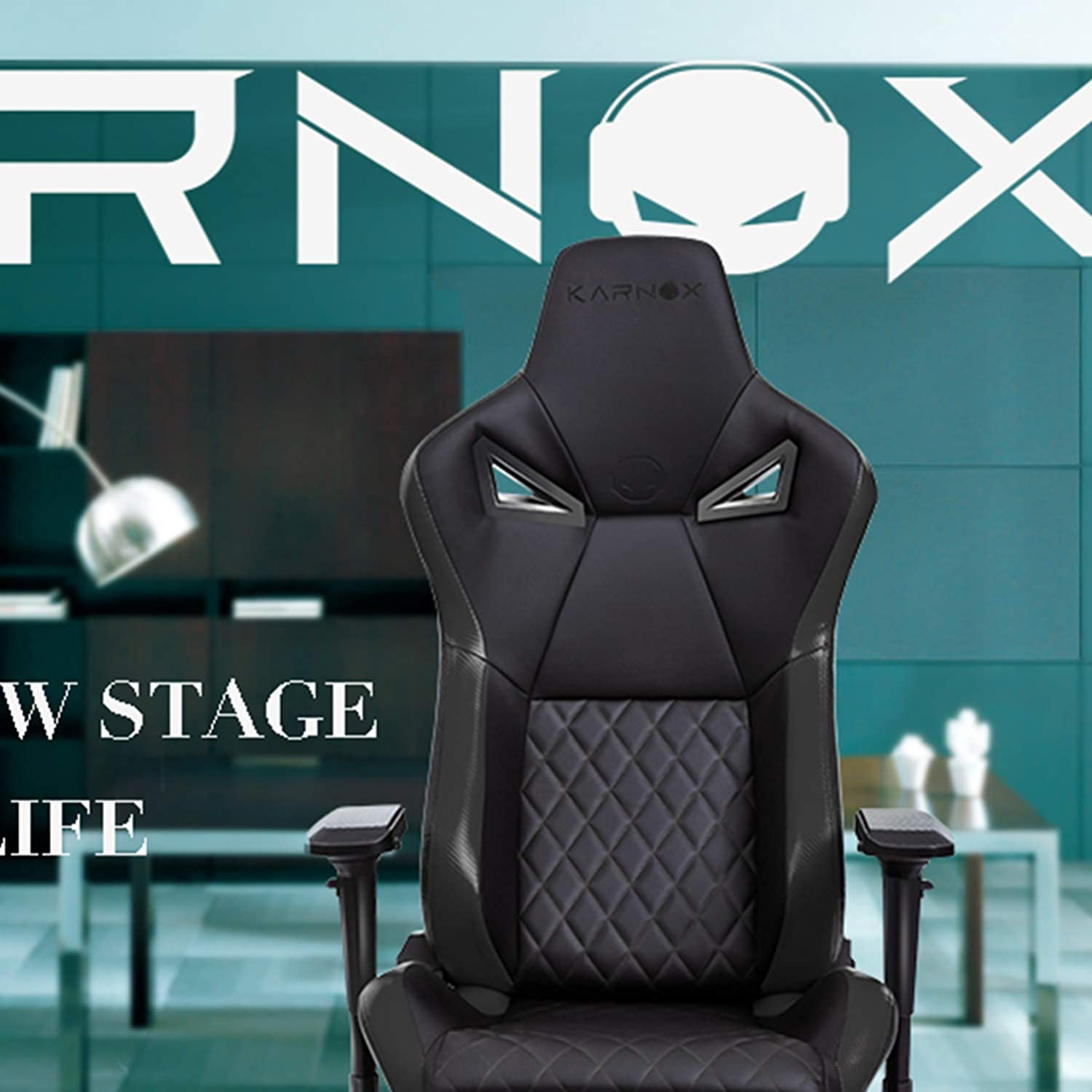 Groovy Karnox Legend Tr New Racing Style Gaming Office Chair With Adjustable Height And Armrests Ergonomic 1550 Reclining Locking High Back With Integrated Gmtry Best Dining Table And Chair Ideas Images Gmtryco