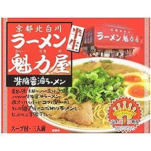 アイランド食品 京都ラーメン 魁力屋 3食入