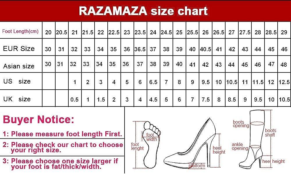 RAZAMAZA Femmes /Él/égant Cone Heel Escarpins Peep Toe