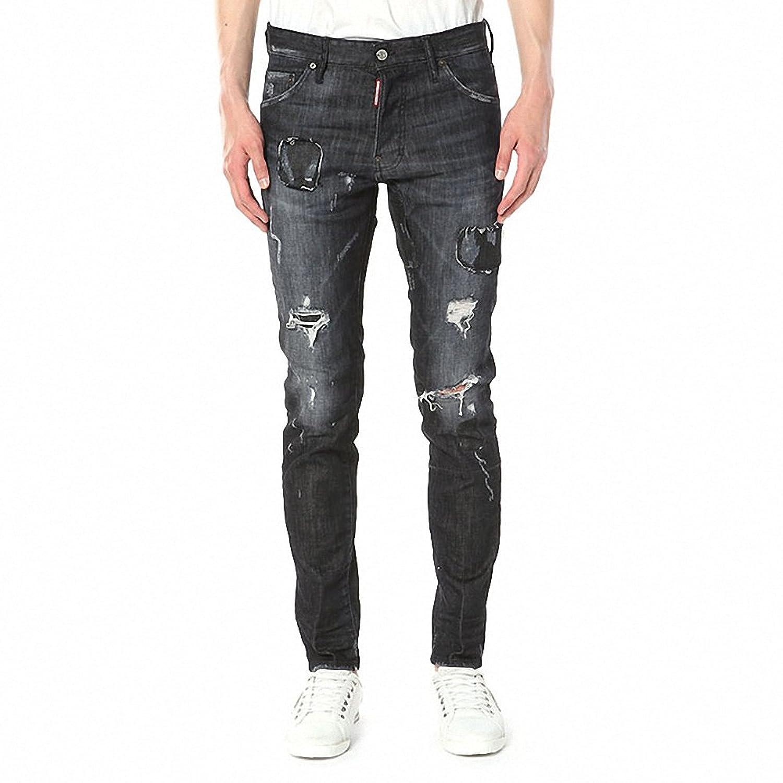 [ディースクエアード Dsquared2] Cool Guy LB0232 S30357 900 メンズ jeans kbb1129 [並行輸入品] B077T5RFJB 46