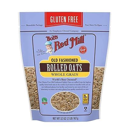 Bobs Red Mill Gluten Free Oats - Lote de 4 ovillos ...