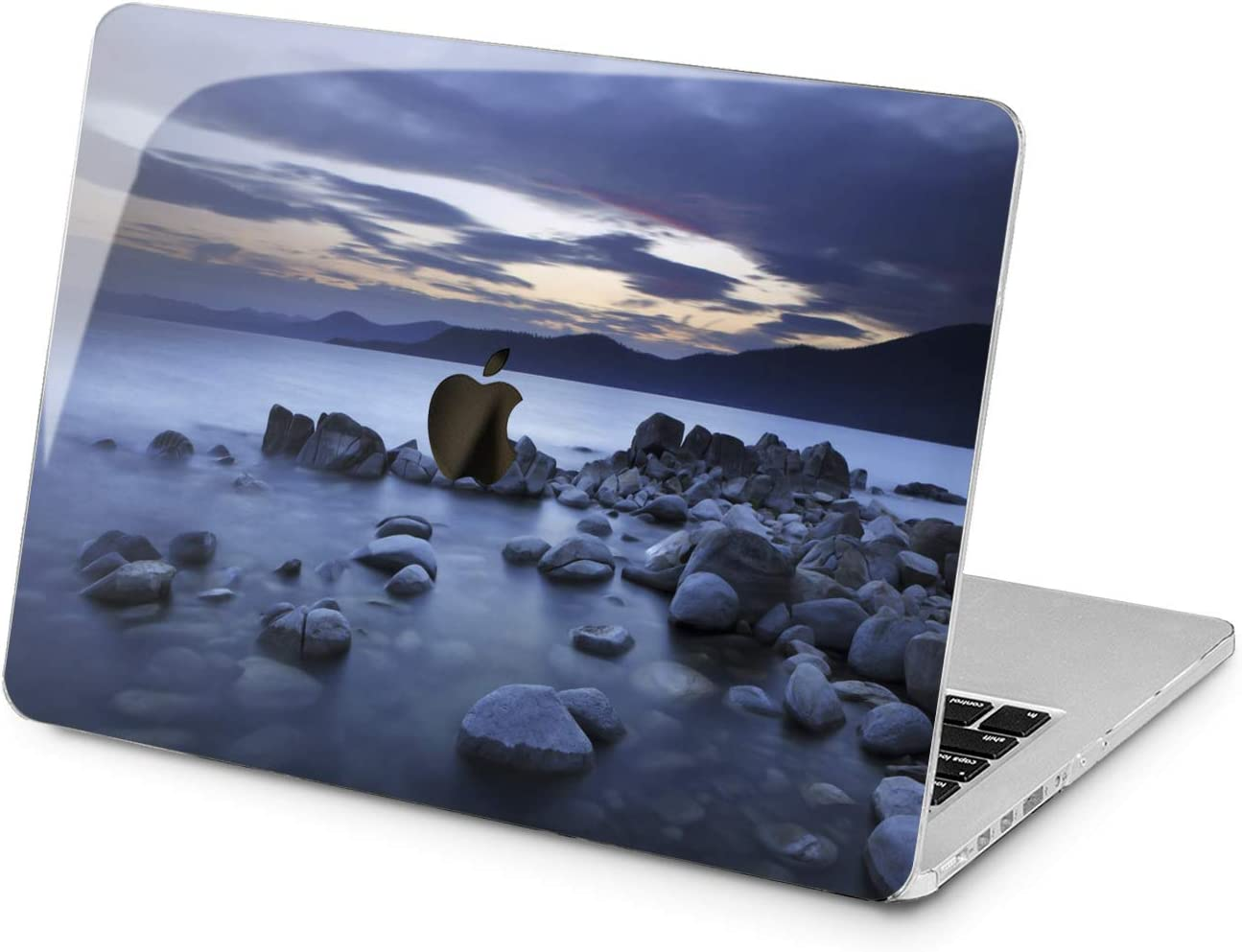 Lex Altern Hard Case for Apple MacBook Pro 15 Air 13 inch Mac Retina 12 11 2020 2019 2018 2017 2016 Touch Bar Shore Seascape Nature Cover Scene Laptop Beach Print Stone Girls Plastic Woman Ocean