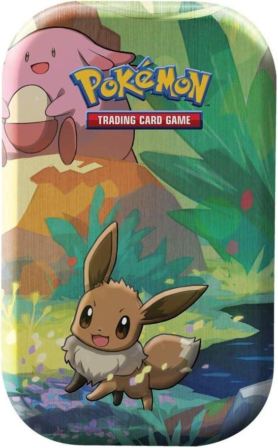 Lively Moments Naipes de Pokemon Mini Caja de Lata Evoli de Alemán ...