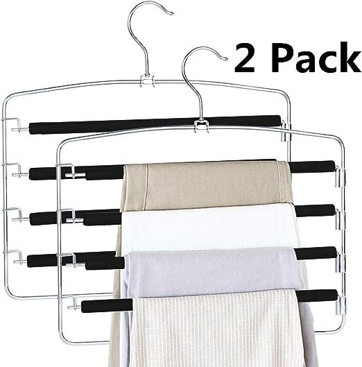 Two-Pair Non-Slip Pant Hanger