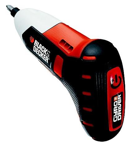 Black+Decker BDCS36G-QW Atornillador sin Cable Gyro Driver (4 W, 3.6 V), 1100