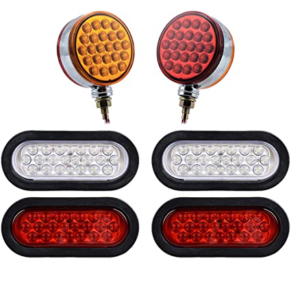 Amazon Com Double Face 48 Led Pedestal Stop Turn Signal