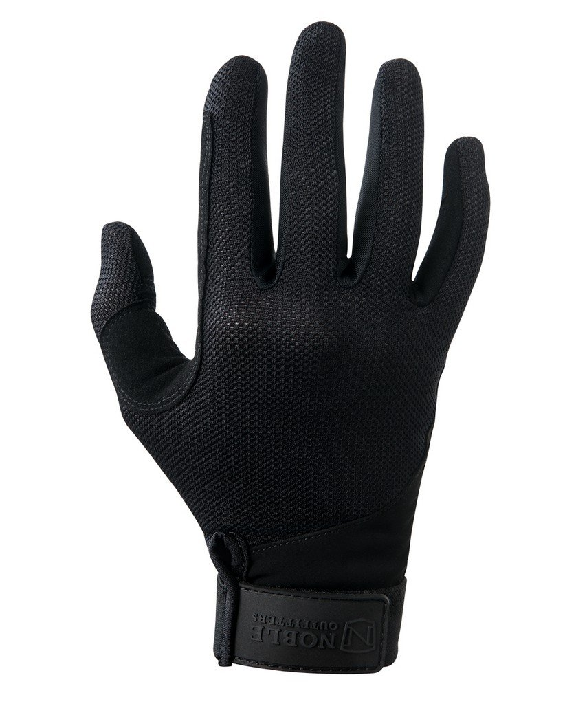 Noble Outfitters Glove Mesh, Black, 8