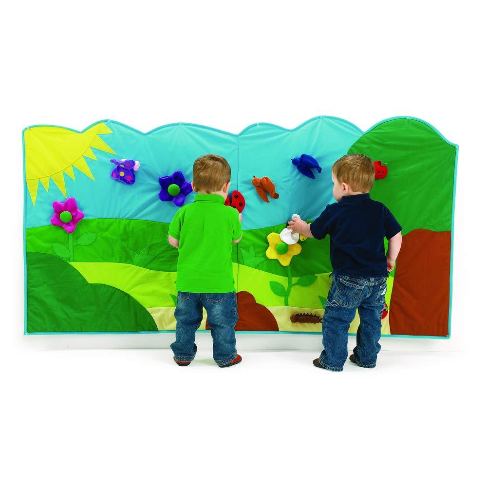 Excellerations Soft Garden Wall Mural Classroom Interactive Wall 14 Pieces (72'' x 36'')
