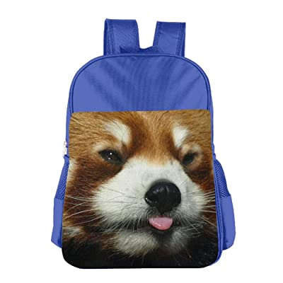 Red Panda Face Backpack Durable Kids School Backpack Back To School Bags  Students Book Bag For 5233539d2ad65
