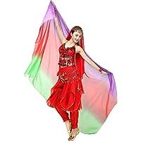 ChYoung Bufanda de Gasa para Mujer Velos Danza
