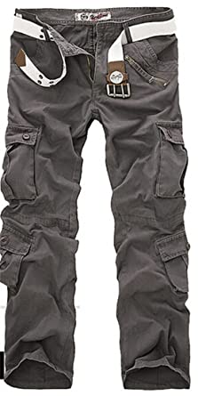 5aba7b856c New Combat Men's Cotton Military Camouflage Cargo Pants Army Camo Trousers