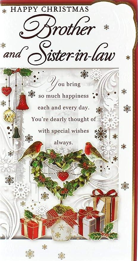 Cards Galore Online Tarjeta de Navidad para hermano y ...
