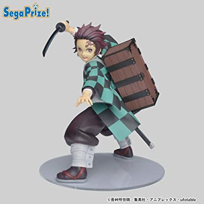 SEGA Demon Slayer Tanjiro Kamado Super Premium Figure 7.87 inches: Toys & Games