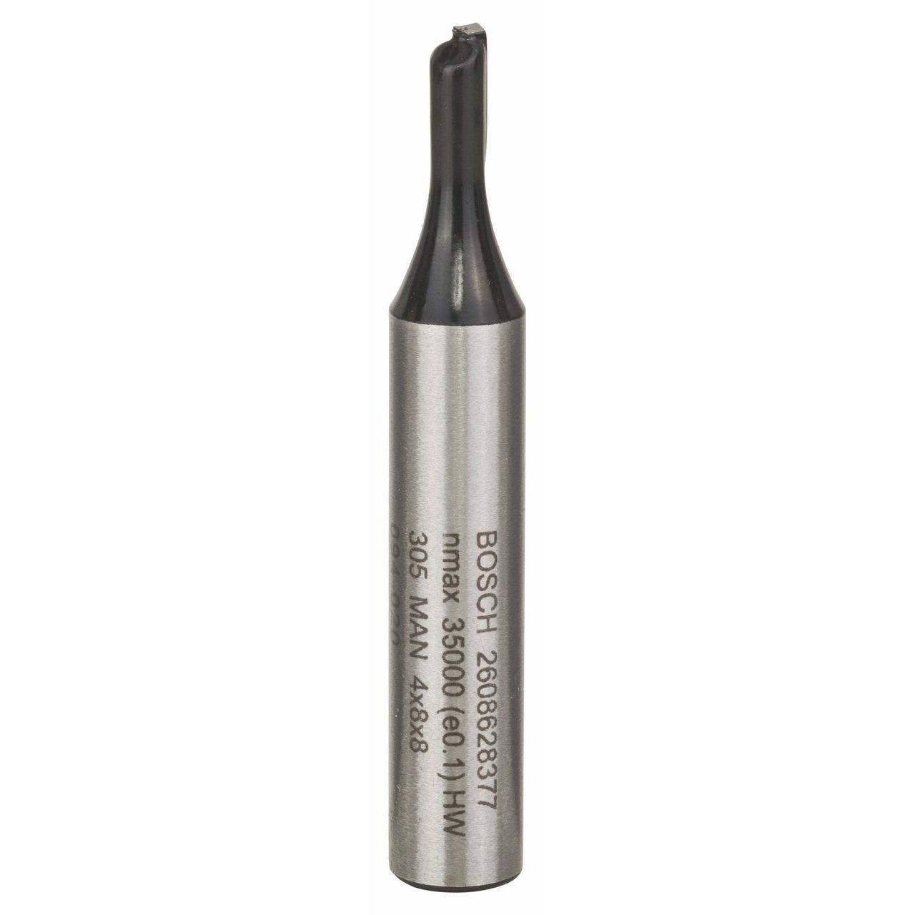 Bosch Zubehö r 2608628377 Nutfrä ser 8 mm, D1 4 mm, L 8 mm, G 51 mm