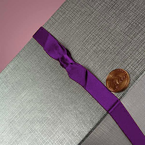 7/16 X 16 PURPLE HAZE SATIN BOW STRETCH LOOPS by Paper Mart