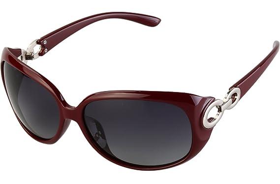 864eaf2c07 Blasea Women s Oversized Polarized Sunglasses 100% UV Protection 122 ...