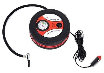 Compresor 12v Portátil Mini Rueda 260PSI neumático Inflador Bomba Coche mechero: Amazon.es: Coche y moto