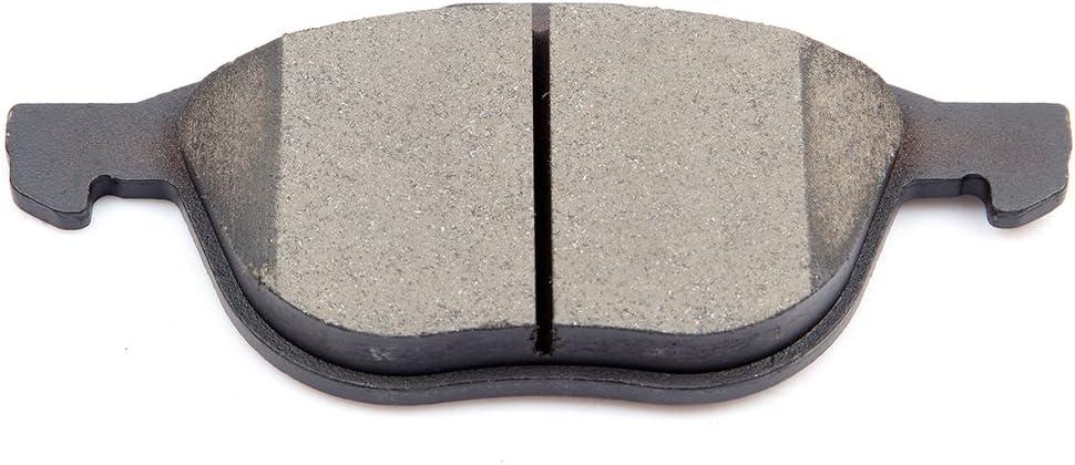 Ceramic Brake Pads Kits Front Rear 8pcs fit for 2012-2015 Ford Focus,Mazda 3//5,Volvo C30//C70//S40//V50
