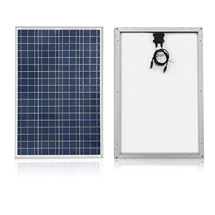 Amazon.com : ACOPOWER 100w Panel, Polycrystalline PV Solar Charger ...