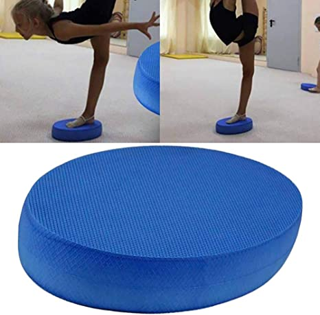 1x Stabilität Balance Pad TPE Yoga Matte Schaum Pad Balance Training Kissen Fitn