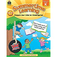 Summertime Learning: Prepare Your Child for Kindergarten
