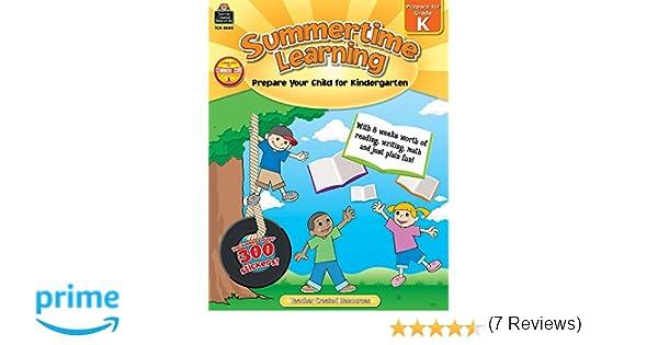 Summertime Learning: Prepare Your Child for Kindergarten: Erica ...